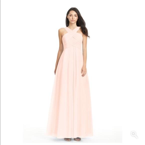 f54a547911bb8 Azazie Dresses & Skirts - Azazie Kaleigh Pearl Pink Bridesmaid Dress